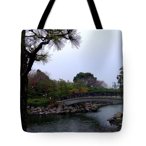 Tote Bag featuring the photograph Japan by Andrea Anderegg