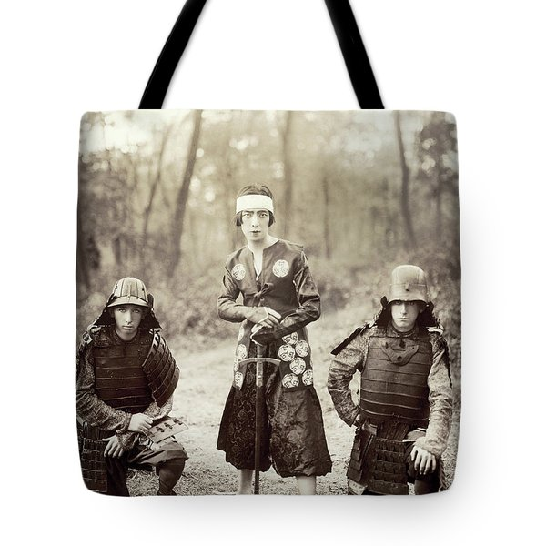 Tote Bag featuring the photograph Japan Dancer, 1920s by Granger