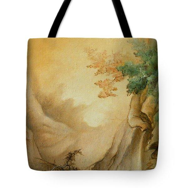 Japanese Autumn Tote Bag by Sorin Apostolescu
