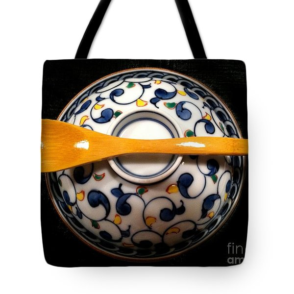 Tote Bag featuring the photograph Japanese Bowl by Carol Sweetwood