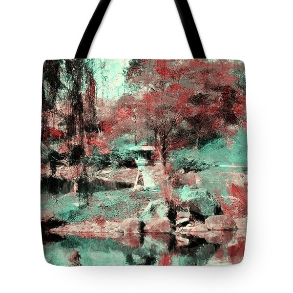 Japanese Garden's Tote Bag by Kathleen Struckle