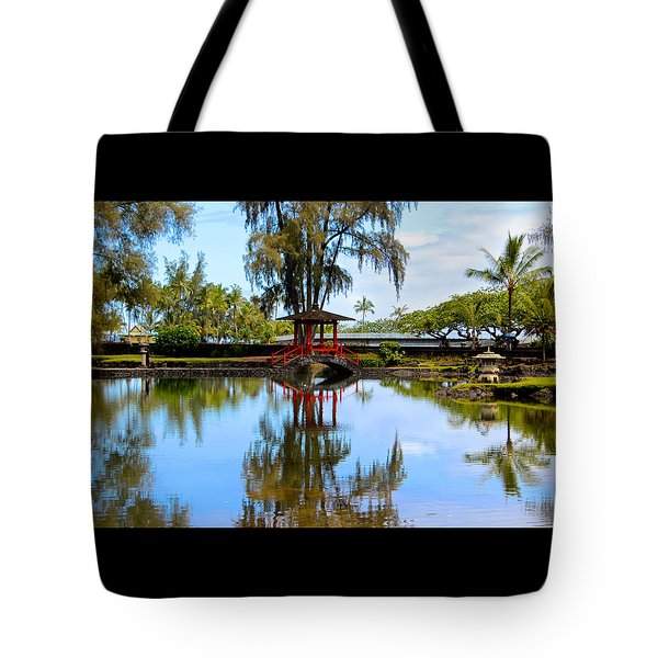 Japanese Gardens Tote Bag by Venetia Featherstone-Witty