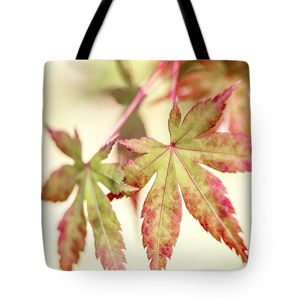 Japanese Maple Tote Bag by Caitlyn  Grasso
