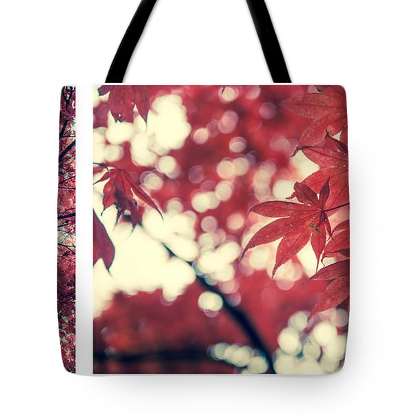Japanese Maple Collage Tote Bag by Hannes Cmarits