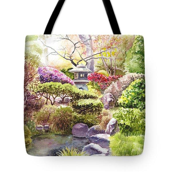 San Francisco Golden Gate Park Japanese Tea Garden  Tote Bag