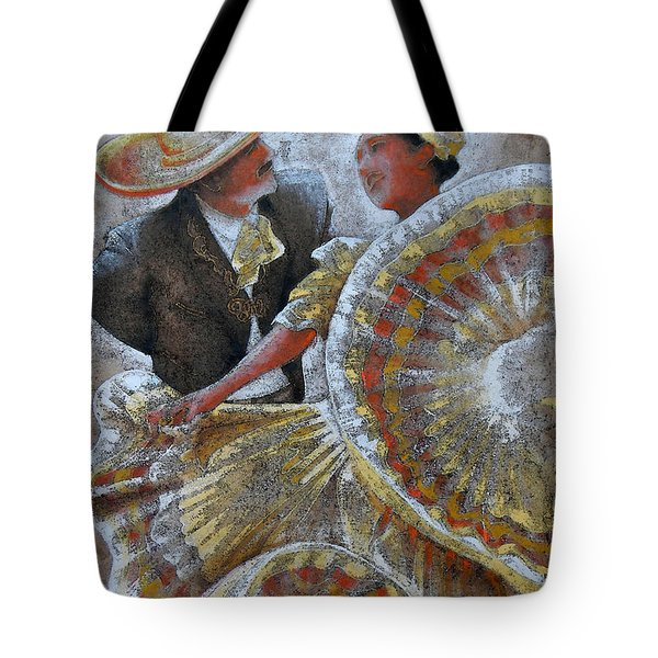 Jarabe Tapatio Dance Tote Bag