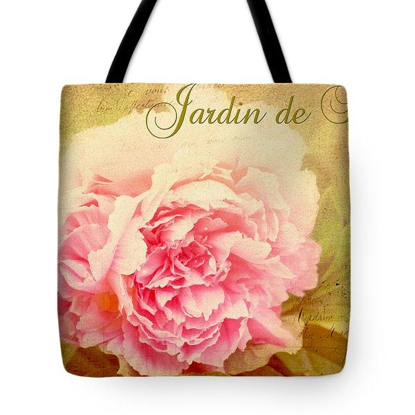 Jardin De Fleurs Tote Bag by Trina  Ansel