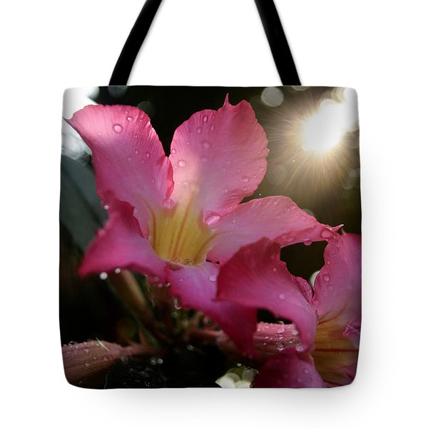 Tote Bag featuring the photograph Jardin Du Matin by Miguel Winterpacht