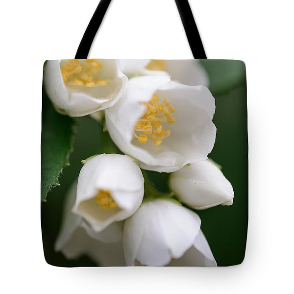 Jasmin Flowers Tote Bag