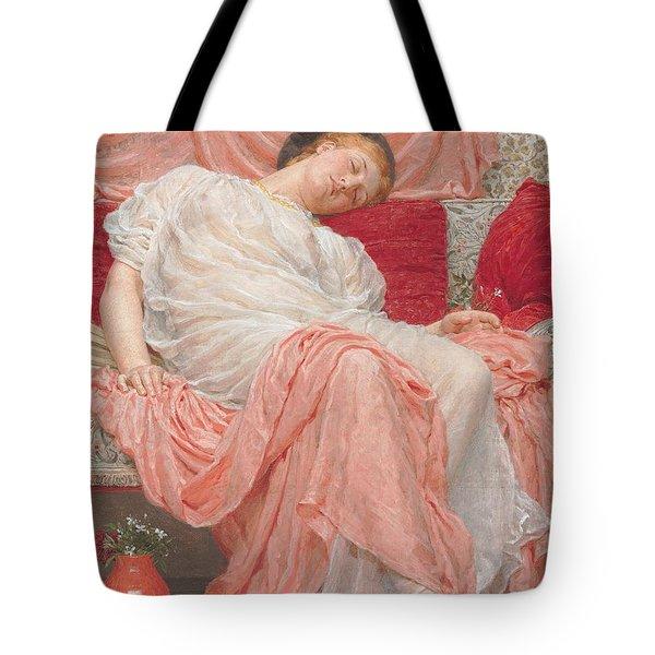 Jasmine Tote Bag by Albert Joesph Moore