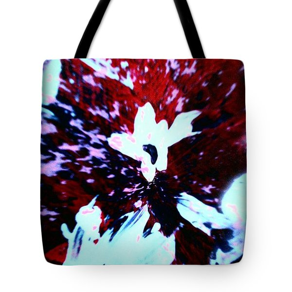 Tote Bag featuring the painting Jasmine In My Mind  by Jacqueline McReynolds
