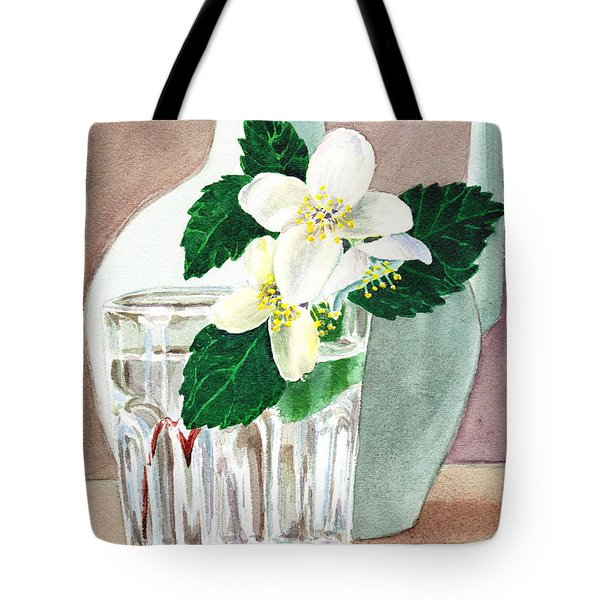 Jasmine Tote Bag by Irina Sztukowski