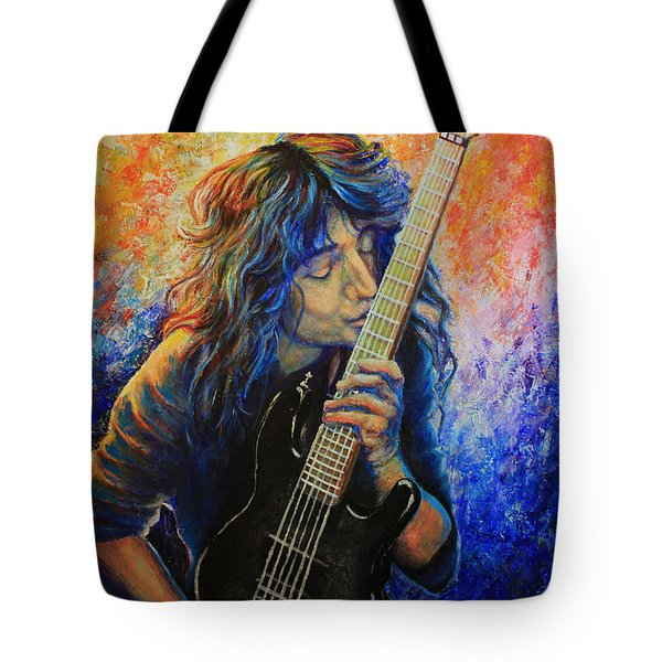 Jason Becker Tote Bag by Tylir Wisdom