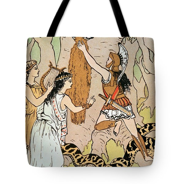 Jason Seizing The Golden Fleece Tote Bag