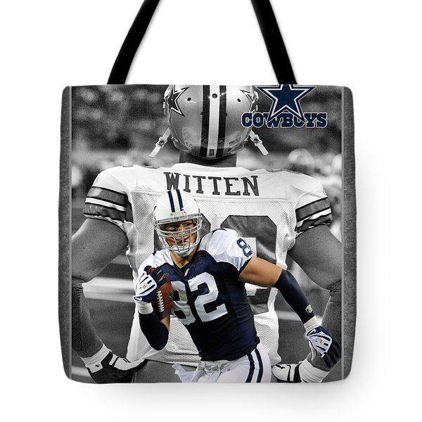 Jason Witten Cowboys Tote Bag