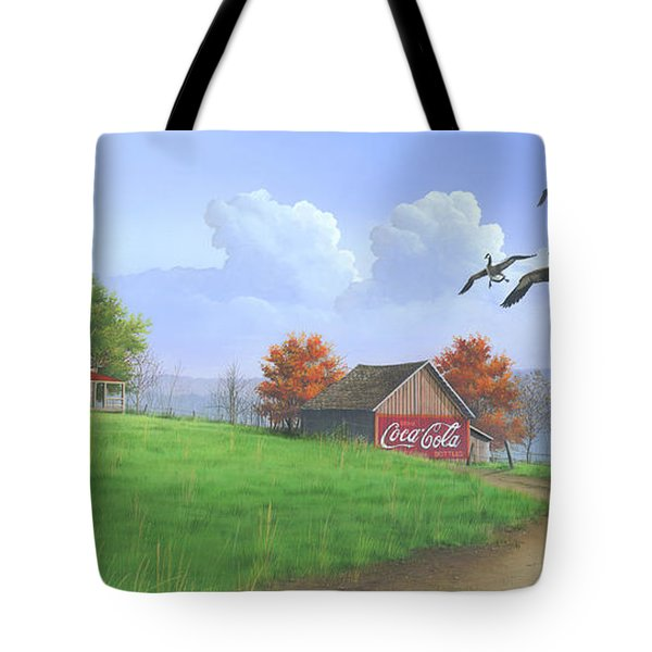 Jasper Autumn Tote Bag by Mike Brown