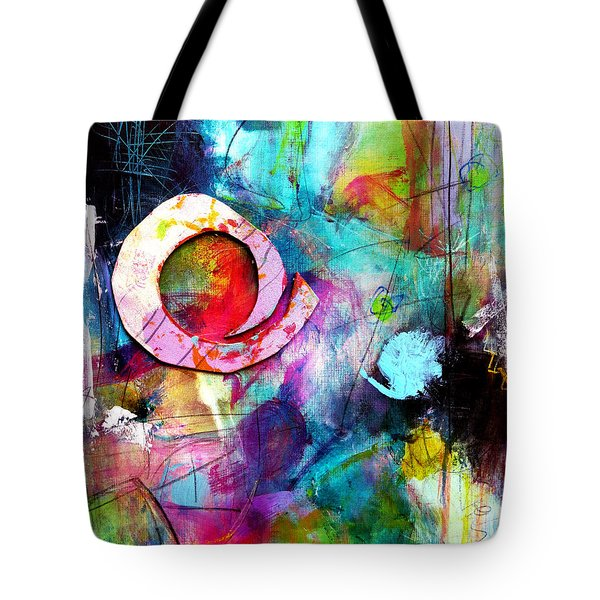 Tote Bag featuring the painting Jaunt by Katie Black