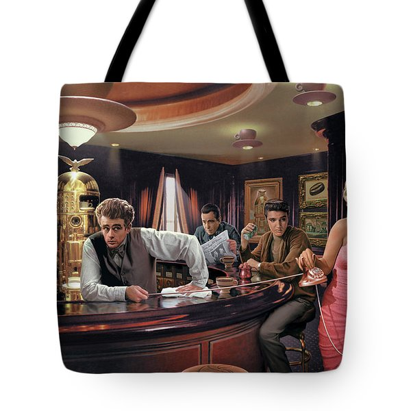 Java Dreams Tote Bag by Chris Consani