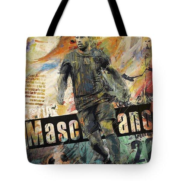 Javier Mascherano - B Tote Bag
