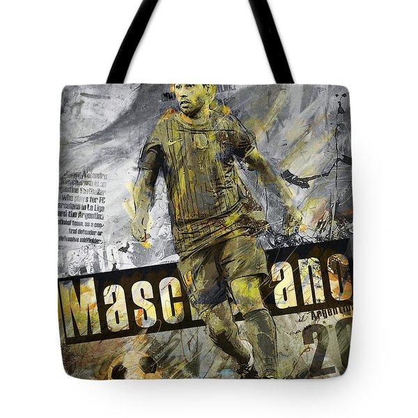 Javier Mascherano - C Tote Bag