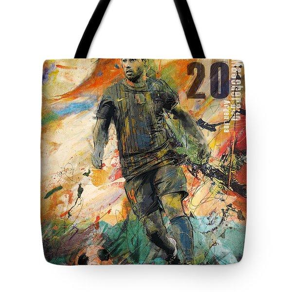 Javier Mascherano Tote Bag