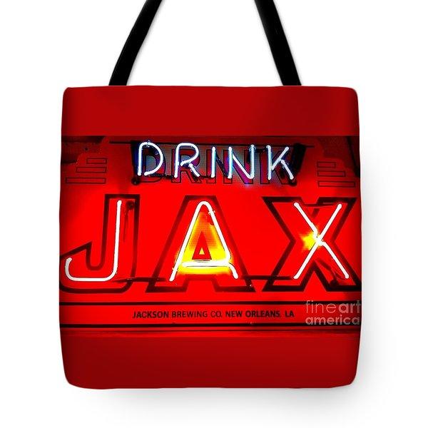Jax Beer Of New Orleans Tote Bag