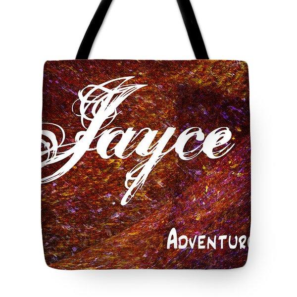 Jayce - Adventurous Tote Bag by Christopher Gaston