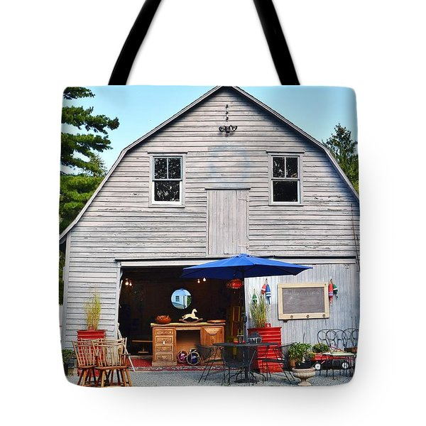 The Old Barn At Jaynes Reliable Antiques And Vintage Tote Bag