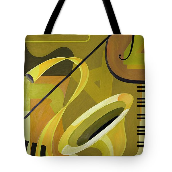Jazz Tote Bag by Carolyn Hubbard-Ford