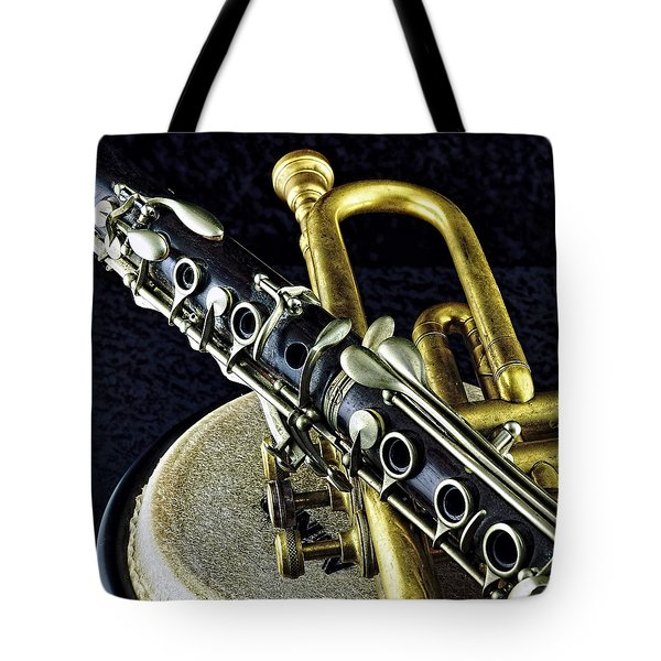 Tote Bag featuring the photograph Jazz by Elf Evans