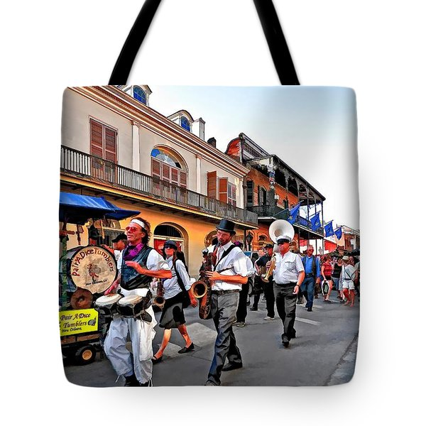 Jazz Funeral Tote Bag by Steve Harrington
