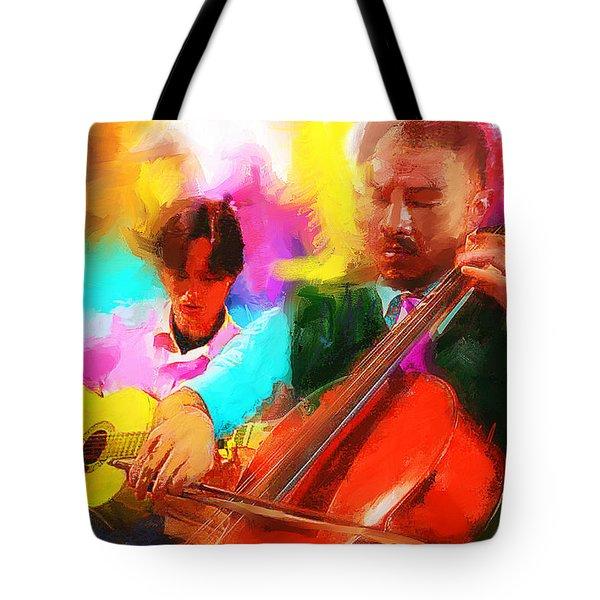 Jazz It Up  Tote Bag