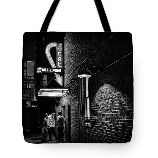 Jazz Night Tote Bag