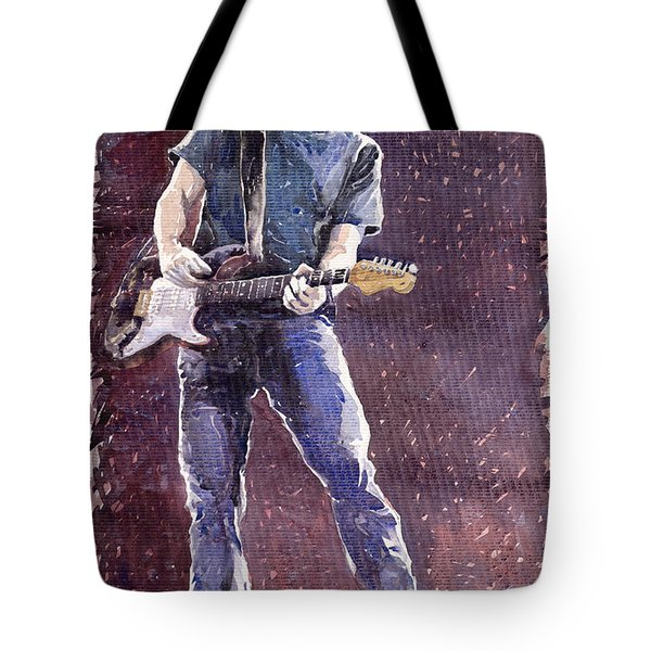 Jazz Rock John Mayer 01 Tote Bag by Yuriy  Shevchuk