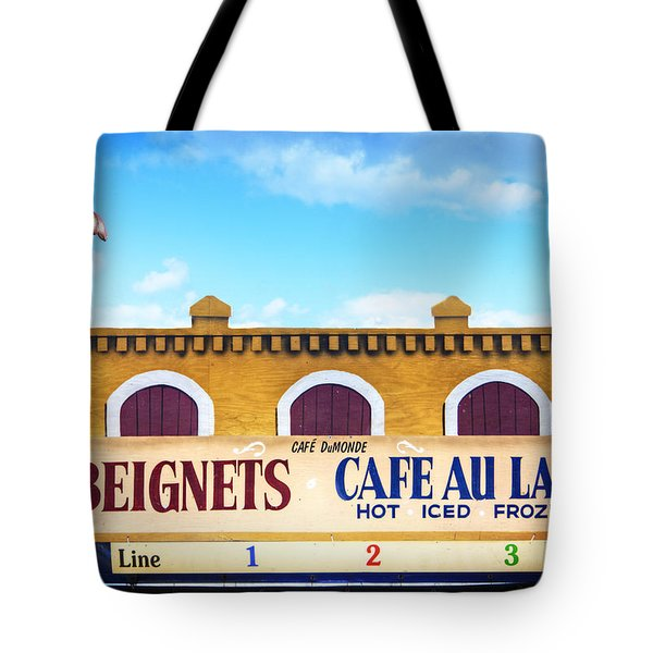 Tote Bag featuring the photograph Jazzfest Heaven by Tammy Wetzel