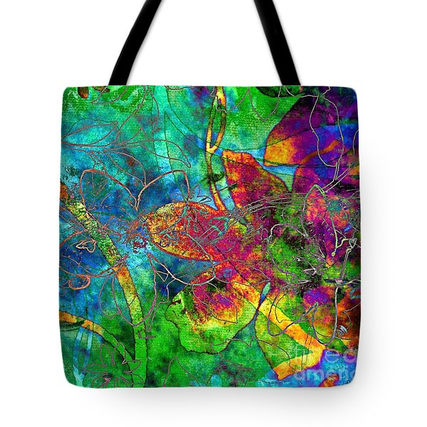 Jazzy Tote Bag by Darla Wood