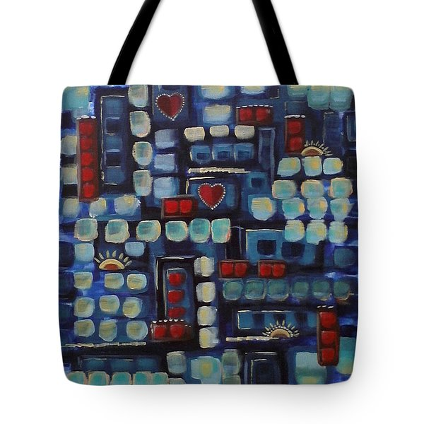 Jazzy Love Tote Bag
