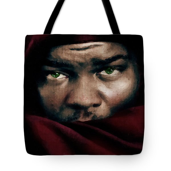 Tote Bag featuring the painting Jealous Othello by Isabella Howard