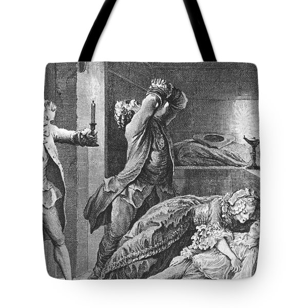 Jean Calas Discovering His Dead Son Tote Bag