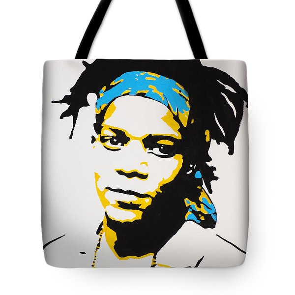 Jean-michel Basquiat Tote Bag