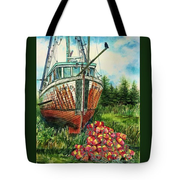 Jeanie O And The Crow Tote Bag