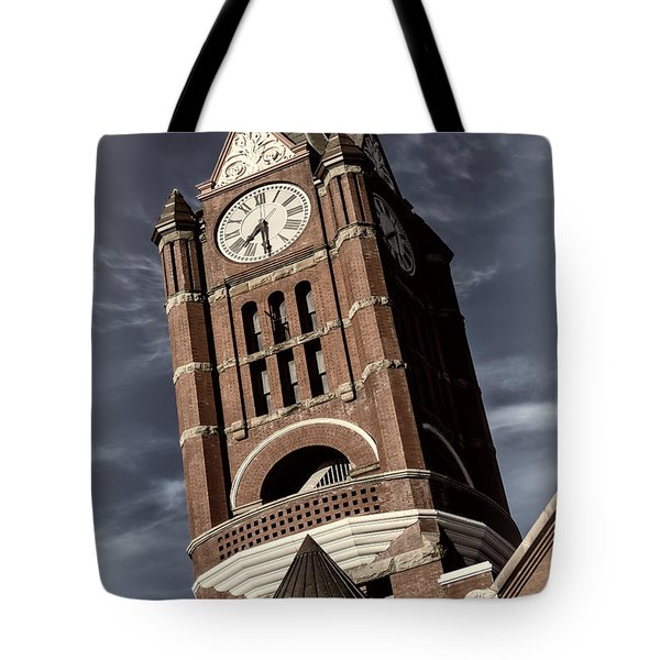 Jefferson County Courthouse Clock Tower Tote Bag