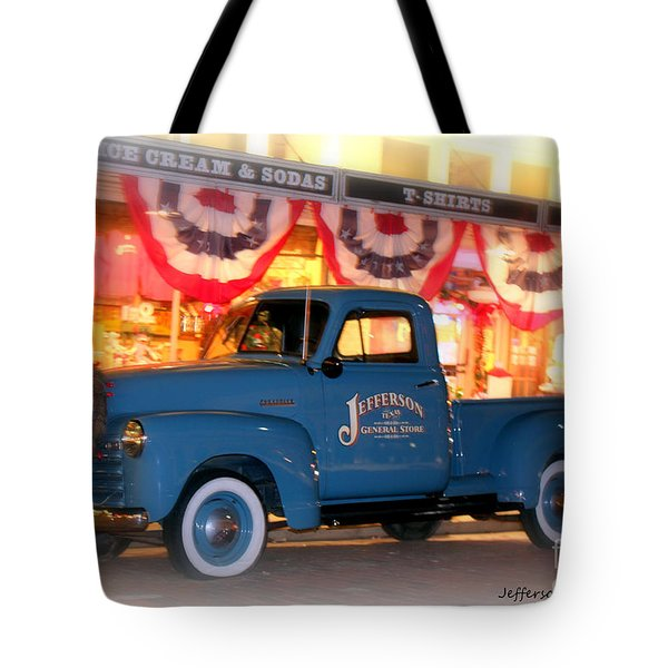 Jefferson General Store 51 Chevy Pickup Tote Bag