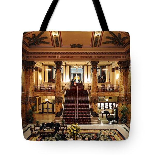 Jefferson Hotel Rotunda Tote Bag