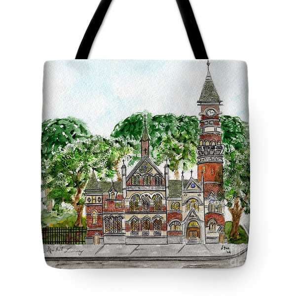 Jefferson Market Library Tote Bag