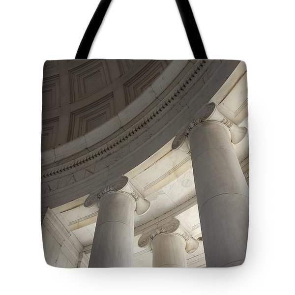 Jefferson Memorial Architecture Tote Bag
