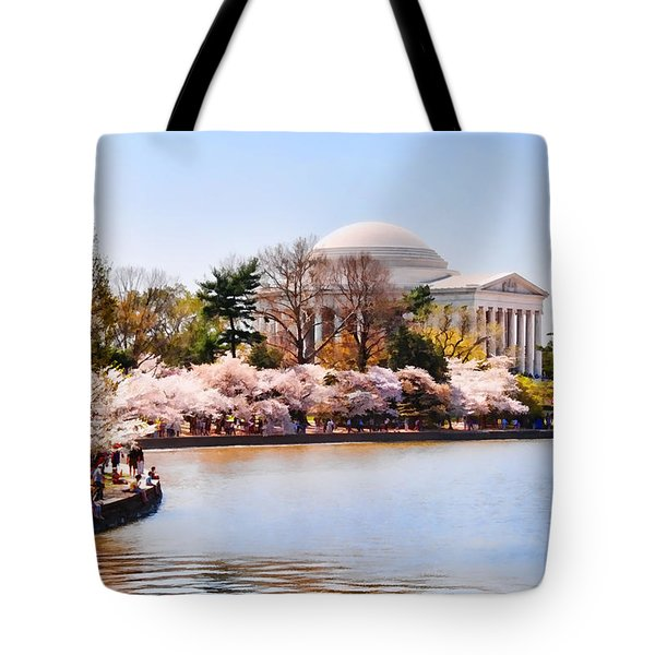 Jefferson Memorial Washington Dc Tote Bag