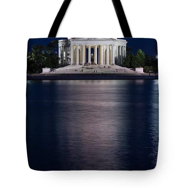 Jefferson Memorial Washington D C Tote Bag by Steve Gadomski
