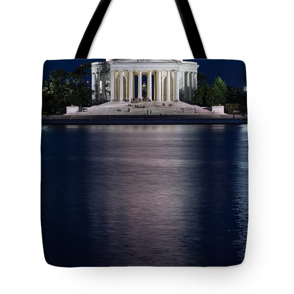 Jefferson Memorial Washington D C Tote Bag