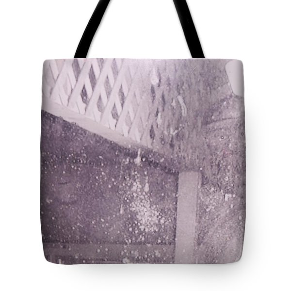 Jefferson Texas Ghost Eyes Tote Bag by Donna Wilson